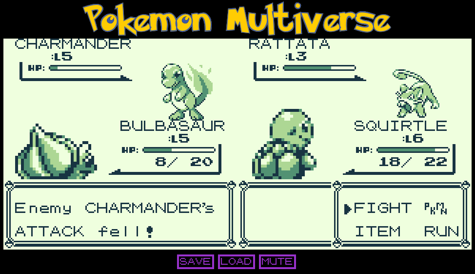 pokemon multiverse