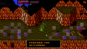 Pause screen from battletoads