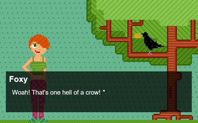 crow foxy